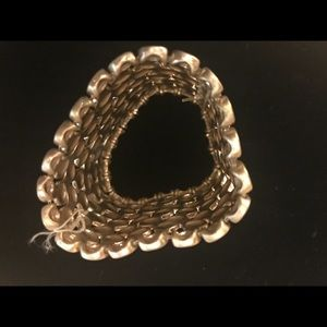 Fashion bracelet gold washed